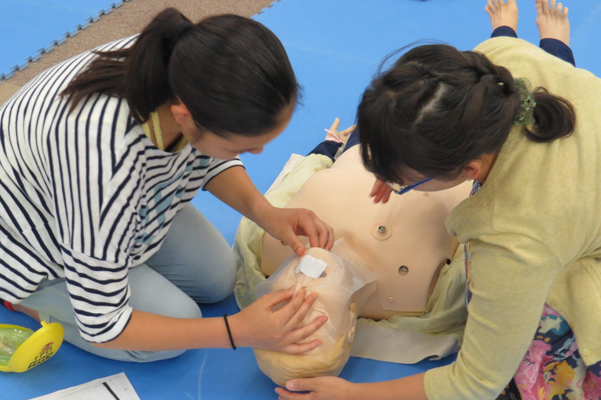 心肺蘇生法の基礎技術講習会を開催しました