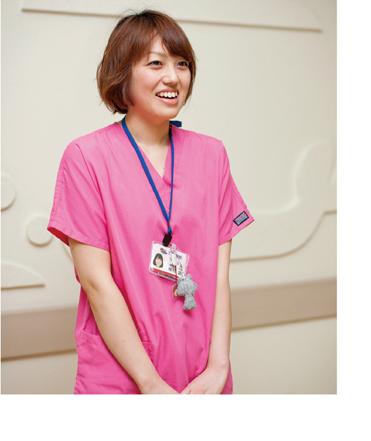 2011年 第13期 看護学科卒業生 茨城県立こども病院 看護師 植村 愛さん