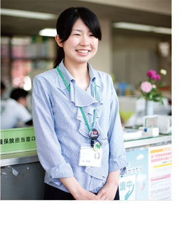 2010年 第12期 看護学科卒業生 坂東市保健福祉部介護福祉科 保健師 塙 麻美さん